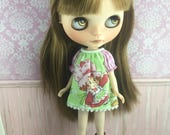 Blythe Smock Dress - Strawberry Shortcake