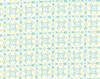 ON SALE Moda Fabric CANYON Kate Spain 1/2 Yard Four Corners Agave Verde Green 27229-11