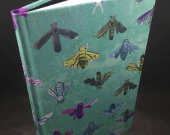Bees hand bound journal