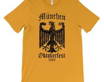 Oktoberfest Shirt, Craft Beer Tshirt, Beer Festival Shirt, Octoberfest, Vintage Munich Shirt, German Shirt