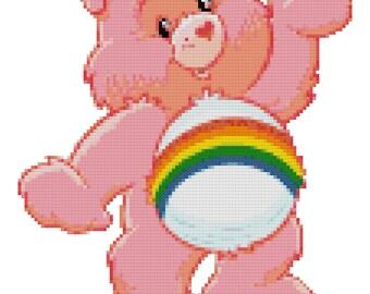 Cheer Bear Cross Stitch Pattern (PDF)