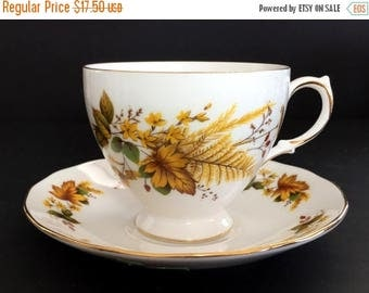 ON SALE Queen Anne, Tea Cup, Teacup And Saucer, Vintage Bone China, English Tea Sets 13886
