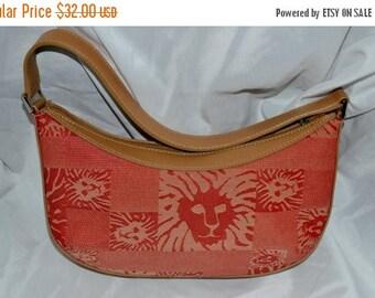 June Savings Anne Klien~Leather Canvas Bag~RED Leather Bag~ Anne Klien Red Bag~ Leather Bag