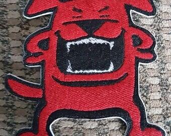 Wild Dog Iron on Patch