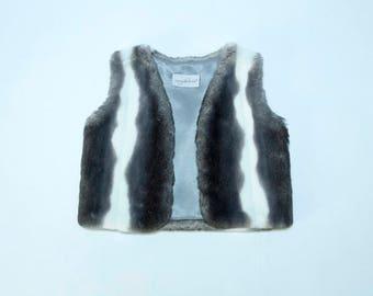 Kids Tissavel Faux Fur Vest