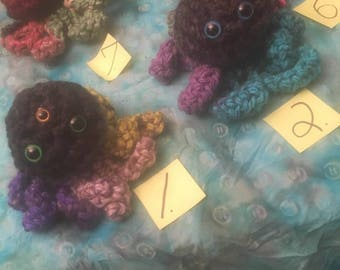 Two Crochetted Octopi!
