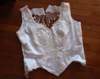 Wedding Dress Beads, Fringe, Lace