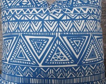 Outdoor Pillow Cover  - SMCT Blue