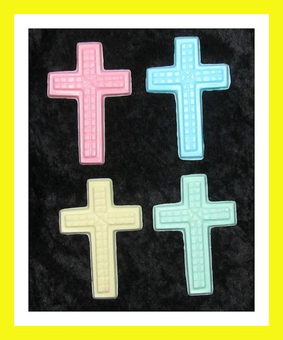 24 Cross Soap Favors, Religious Favors,Church Favors,Communion Favors,Confirmation Favors,Baby Shower Favors,Baptism Favors,Holy Favor