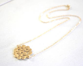Dainty Gold Necklace, Gold circle Necklace, Dainty Circle Necklace best selling item Circle Necklace Minimalist Necklace best selling item