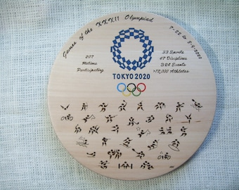 Olympic Games 2020 Decorative Plate