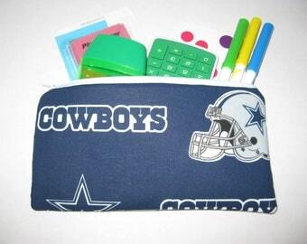 Dallas Cowboys Football Team Pencil Case