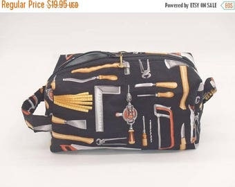Christmasinjuly CIJ Sale Carpenter Tool Bag, Woodworker Bag, Travel Bag, Zip Pouch, Ditty Bag, Toiletry Kit, Shave Kit, Gifts for Him, Gifts
