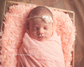 Pick Ten Cheesecloth Wraps-Ten Hand-Dyed Premium Cheesecloth Wraps You Choose Your Colors-Photo Prop Baby Wedding Maternity