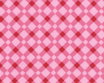 18075-13 Pink Lattice, Domestic Bliss by Liz Scott for Moda