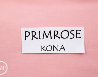 28 Inch End of Bolt Remnant Primrose Kona Cotton Solid Fabric from Robert Kaufman, K001-274