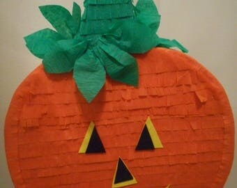 Pumpkin Traditional (Hit with a stick ) or Pull Strings Halloween Pinata