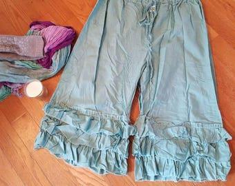 on the prairie ruffled pantaloons