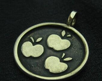 Bronze Applejack pendant
