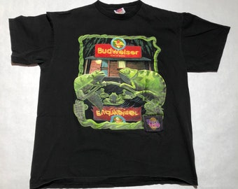 Vintage Budweiser Chameleons T-Shirt