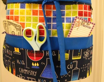 Teacher Aprons-Crafter Vendor Utility Apron-Geek Chic
