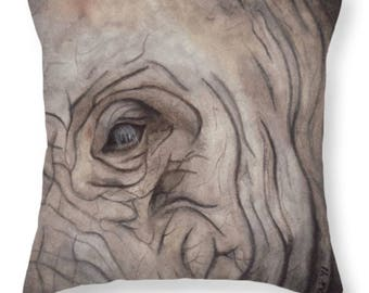 Elephant Eye Pillow