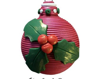 Holly Berries ornament