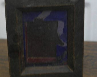 RESERVED antique photographic wood slide picture frame
