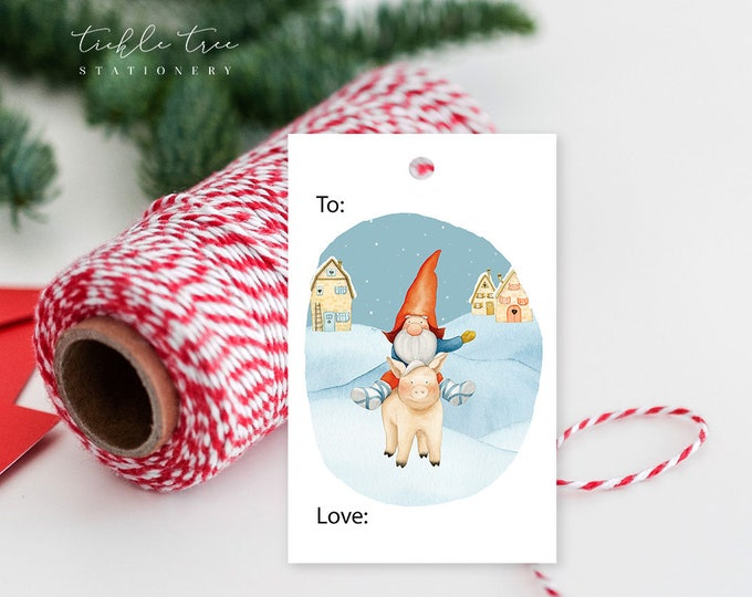 Featured listing image: Christmas Gift Tag Collection - Yuletide Christmas
