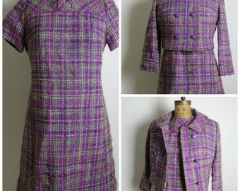 1960s Wool Dress and Jacket Set