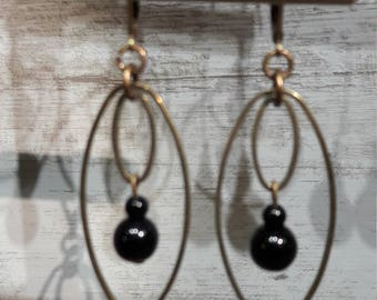Black onyx Earrings or other :)