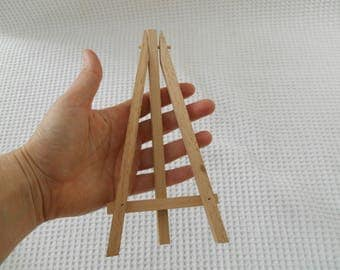 Small Art Easel Display Stand wooden 19cm
