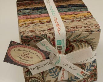 Collections for a Cause - Love Fabric Collection by Howard Marcus for Moda Fabrics - Bundle of 40 Fat Quarters
