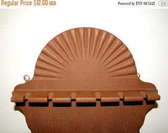 Summer Sale Vintage Wooden Spoon Rack