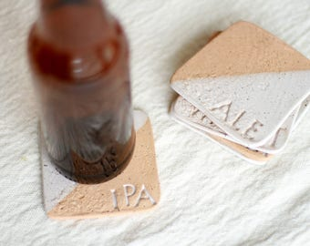 Beer Coasters, Ceramic Coasters, Father's Day Gift