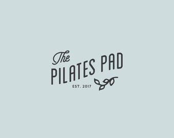 Pilates Logo, Custom Pilates Logo, Branding Package, Custom Branding, Small Business Branding, Custom Logo Design, Premade logo, Branding