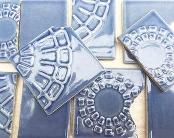Vintage Periwinkle Tiles