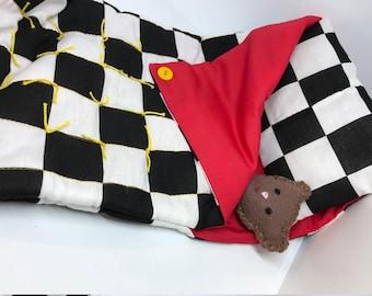 Sleeping Bag and Pillow Set for Lalaloopsy Full Size Doll // Big Sister and similar // Camping set // Sleepover // Pajama Party // Doll Bed