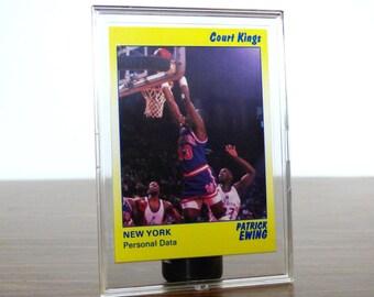 1990 Patrick Ewing Star Co. Card Basketball NBA New York Knicks 45