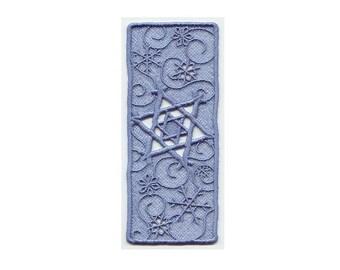 Star of David Snowflake Bookmark (Lace) - Have Custom Made