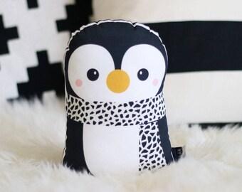 Patrick Penguin Softie - Pillow, Nursery, Plush