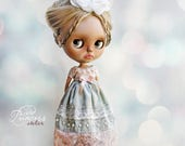 PARADISE FLOWER Blythe/Pullip Special Ooak Dress By Odd Princess Atelier,  New Summer 2017 Collection