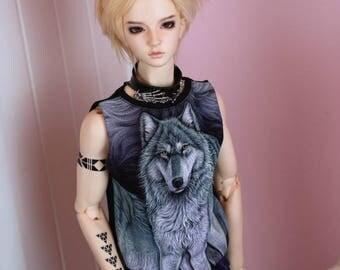 SD BOY Wolf sleeveless top