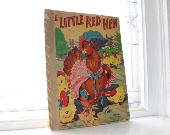 Vintage Little Red Hen Children's Book 1942
