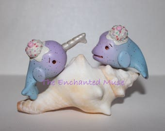 Sweet Ice Cream Beluga and Narwhal Best Set