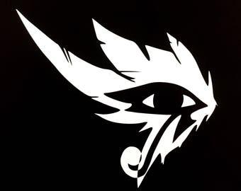 Pharah Eye Spray Overwatch Decal | Sticker | Vinyl | Car, Wall, Window or Laptop Decoration