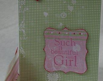 Beautiful Little Girl Card