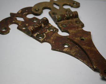 Antique Ice Box Hinges and Hardware