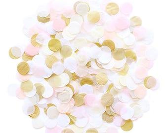Jumbo Tissue Paper Confetti - Blushing Bride