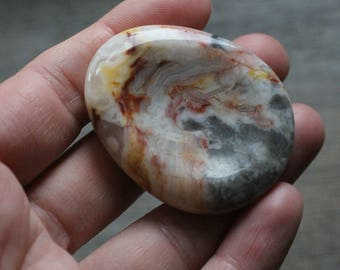 Crazy Lace Jasper Soothing Worry Stone #86254